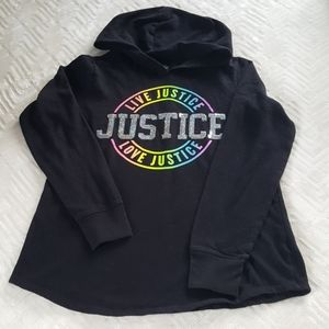 Justice sweat shirt